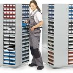 Поворотные стойки TRESTON для кассетниц серии 300 и 400 - Архивное и складское оборудование