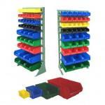 Пластиковые ящики и стойки - Архивное и складское оборудование