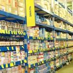 Торговые стеллажи Cash&Carry; - Архивное и складское оборудование