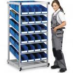 Стойки TRESTON для навесных штабелируемых ячеек, гравитационная стойка - Архивное и складское оборудование
