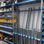 Стеллажи для хранения длинномерных товаров - Архивное и складское оборудование