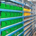 Стеллажи с наклонными полками - Архивное и складское оборудование