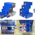 Модульные пластиковые короба с выдвижными ящиками - Архивное и складское оборудование