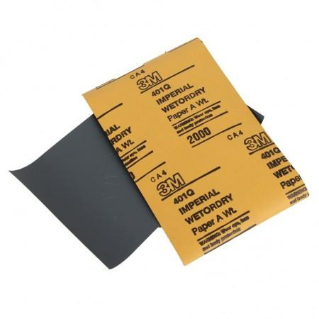 02049 (09546) 3М (*Б52) 3 М Абразивный материал в листах 138 х 230 мм 401Q IMP, Р2000 - Архивное и складское оборудование