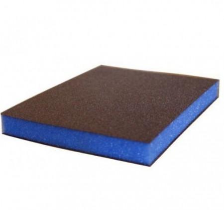 7983 siasponge губка двусторонняя 98 х 120 х 13 мм, ultrafine, p800, синяя - Архивное и складское оборудование