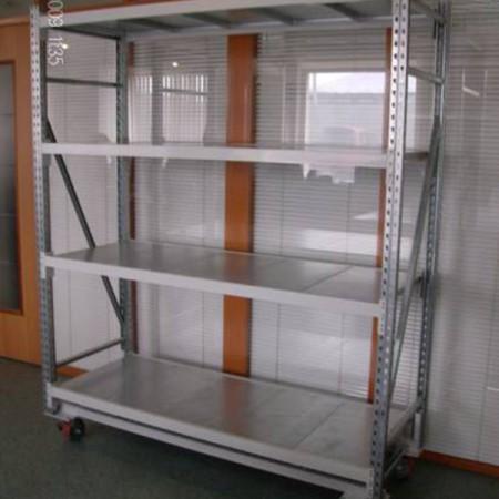 Стеллажи перекатные полочные - Архивное и складское оборудование