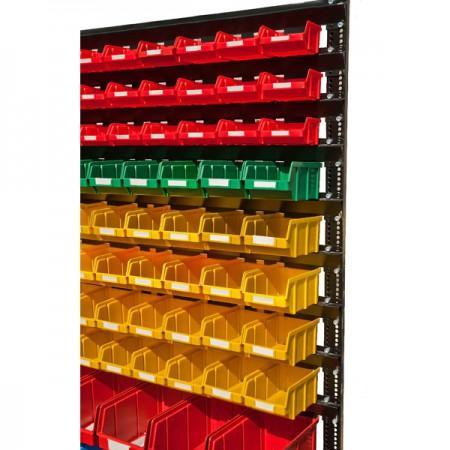 Стойка односторонняя для ящиков 1500-1 - Архивное и складское оборудование