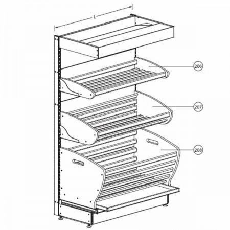 Стеллаж хлебный - Архивное и складское оборудование
