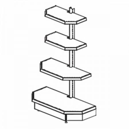 Торцевая секция - Архивное и складское оборудование