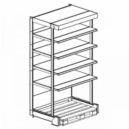 Стеллаж усиленный - Архивное и складское оборудование