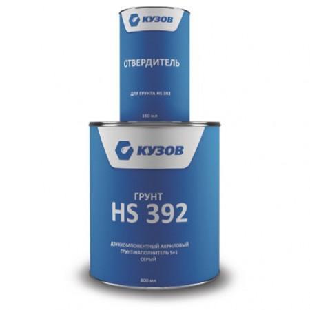 КУЗОВ грунт HS 392 в комплекте с отвердителем (800+160 мл) - Архивное и складское оборудование
