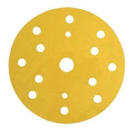 3М Абразивный материал в кругах D-150 мм 255Р LD 861А Золотистый, Р 120 (на липучке) - Архивное и складское оборудование