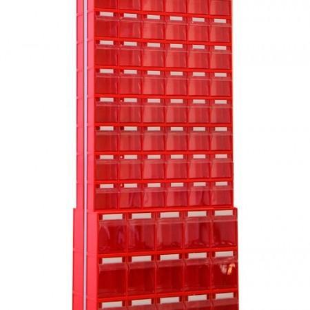 Стойка с коробами Стелла 406-00-10-03 (двусторонняя) - Архивное и складское оборудование