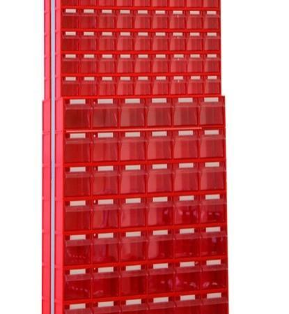 Стойка с коробами Стелла 406-09-08-00 (двусторонняя) - Архивное и складское оборудование