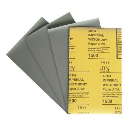 02048 (09545) 3 М Абразивный материал в листах 138 х 230 мм (*Б52) 401Q IMP, Р1500 - Архивное и складское оборудование