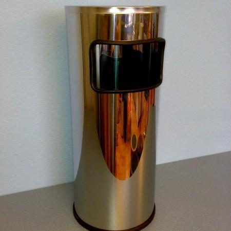 Урна К250НН с пепельницей нержавеющая сталь - Архивное и складское оборудование