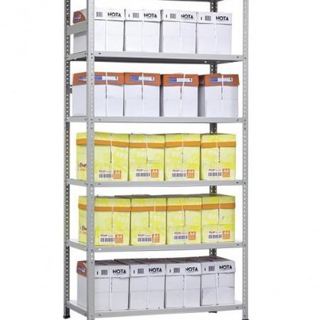 Стеллаж металлический MS HARD (1000 КГ НА СЕКЦИЮ) - Архивное и складское оборудование