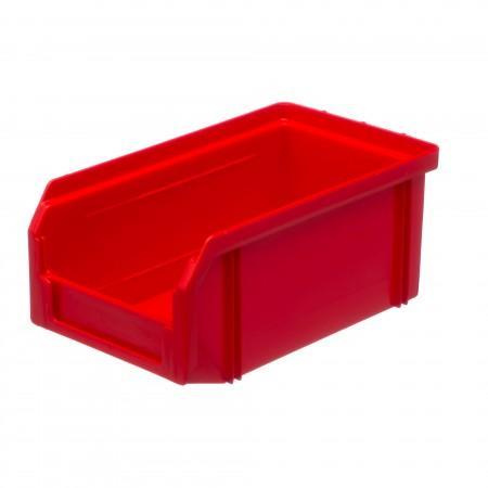 Пластиковый ящик Стелла-техник V-1-красный - Архивное и складское оборудование