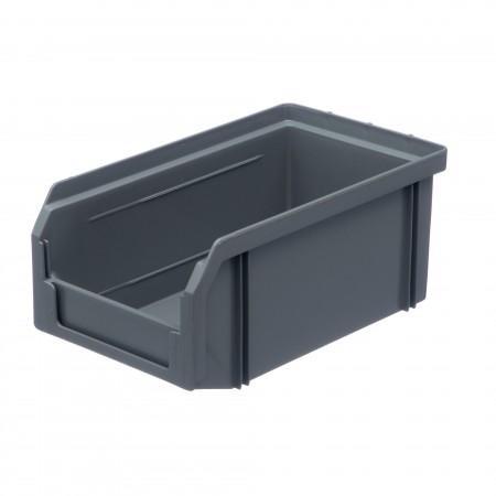 Пластиковый ящик Стелла-техник V-1-серый - Архивное и складское оборудование