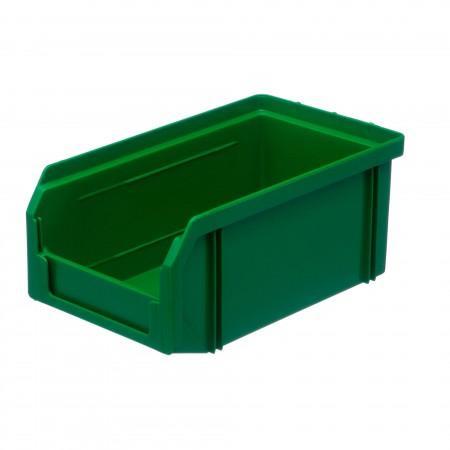 Пластиковый ящик Стелла-техник V-1-зеленый - Архивное и складское оборудование