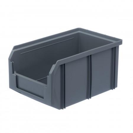 Пластиковый ящик Стелла-техник V-2-серый - Архивное и складское оборудование