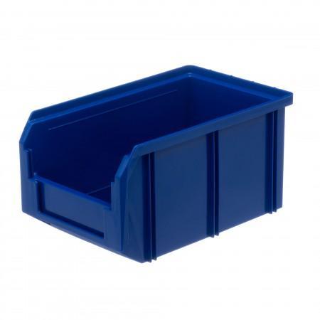 Пластиковый ящик Стелла-техник V-2-синий - Архивное и складское оборудование