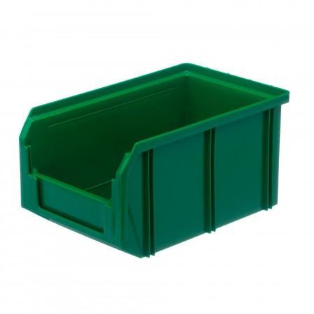 Пластиковый ящик Стелла-техник V-2-зеленый - Архивное и складское оборудование