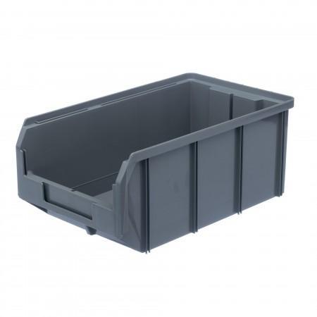 Пластиковый ящик Стелла-техник V-3-серый - Архивное и складское оборудование