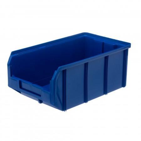 Пластиковый ящик Стелла-техник V-3-синий - Архивное и складское оборудование