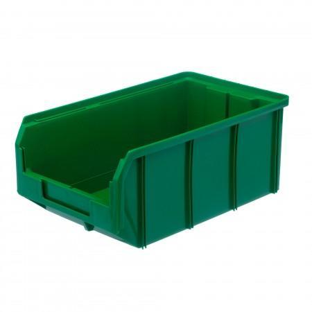 Пластиковый ящик Стелла-техник V-3-зеленый - Архивное и складское оборудование