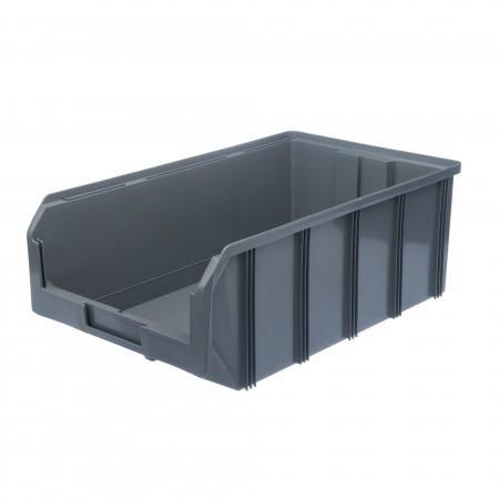Пластиковый ящик Стелла-техник V-4-серый - Архивное и складское оборудование