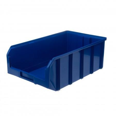 Пластиковый ящик Стелла-техник V-4-синий - Архивное и складское оборудование