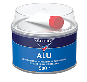 314.0500 SOLID ALU Наполнительная шпатлевка, усиленная алюминием  (500 гр.) - Архивное и складское оборудование