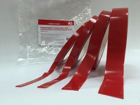 A1 MAX FIX DOUBLE SIDE TAPE Двусторонняя клеющая лента максимальной фиксации 9 мм х 5 м - Архивное и складское оборудование