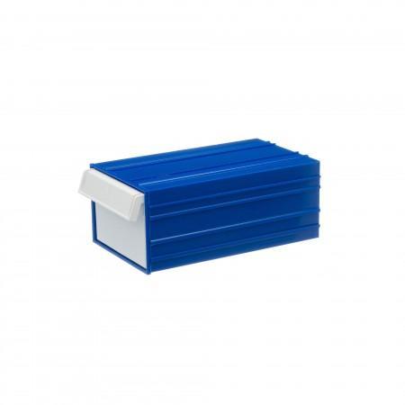 Пластиковый короб Стелла-техник С-2-синий-белый - Архивное и складское оборудование