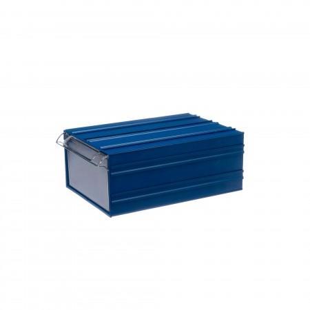 Пластиковый короб Стелла-техник С-501-А-синий-прозрачный - Архивное и складское оборудование