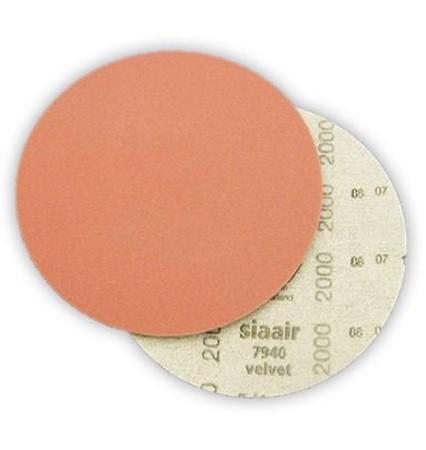 Siaair Velvet Абразивный материал в кругах D-150 мм P2000 T3307.2000/5163.3687.2000 - Архивное и складское оборудование