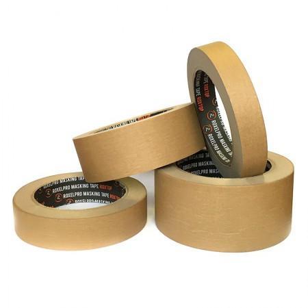 RoxelPro ROXTOP 311525 Скотч бумажный 25 мм х 40 м (до 80° С) коричневый - Архивное и складское оборудование
