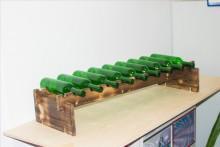 Стеллаж винный из хвойных и твёрдых пород дерева - Архивное и складское оборудование