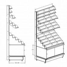 Стеллаж для CD и МС - Архивное и складское оборудование