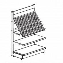 Стеллаж с наклонной панелью - Архивное и складское оборудование