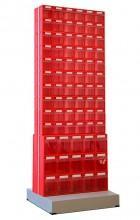 Стойка двусторонняя напольная Стелла-техник 406-00-10-03 - Архивное и складское оборудование
