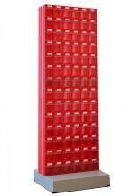 Стойка с коробами Стелла 406-00-14-00 (двусторонняя) - Архивное и складское оборудование