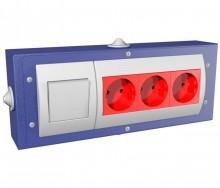 Блок электророзеток - Архивное и складское оборудование