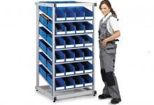 Стойка DBS-808 (гравитационная) - Архивное и складское оборудование