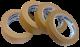08СМТ019 КУЗОВ Маскирующая лента 19 мм х 40 м (до 110°С) коричневая - Архивное и складское оборудование