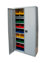 Шкаф ШХА 900-40 для ящиков V-3 с дверьми - Архивное и складское оборудование