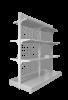 Стеллаж островной с сетчатой стенкой - Архивное и складское оборудование