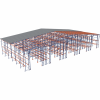 Самонесущие склады на основе паллетных стеллажей - Архивное и складское оборудование