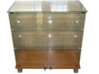 Прилавок НЕБО 850/2 верх стекло - Архивное и складское оборудование